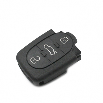 Часть выкидного ключа с местом под уставку платы центрального замка, количество кнопок: 3
