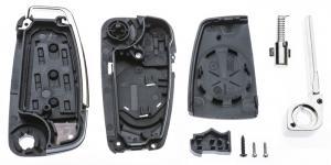 Заготовка выкидного ключа с местом под чип и плату, профиль HU66, количество кнопок: 3_2