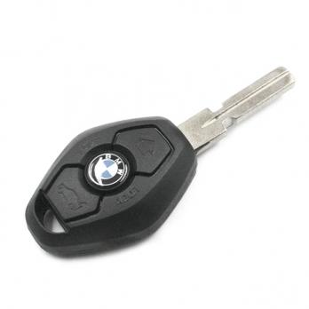 Заготовка ключа с кнопками с местом под чип и плату, профиль HU58, количество кнопок: 3