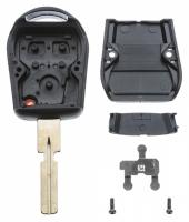 Заготовка ключа с кнопками с местом под чип и плату, профиль HU58 количество кнопок: 3_2