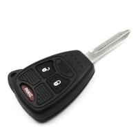Заготовка ключа с кнопками с местом под чип и плату, профиль CY24 количество кнопок: 2+1