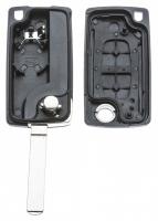 Заготовка выкидного ключа с местом под чип и плату, профиль VA2, количество кнопок: 2_2