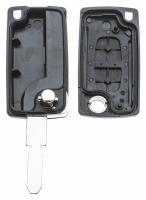 Заготовка выкидного ключа с местом под чип и плату, профиль NE78 количество кнопок: 2_2