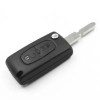Заготовка выкидного ключа с местом под чип и плату, профиль NE78 количество кнопок: 2