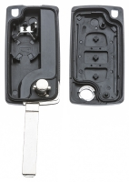 Заготовка выкидного ключа с местом под чип и плату, профиль VA2, количество кнопок: 3_2