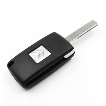 Заготовка выкидного ключа с местом под чип и плату, профиль HU83, количество кнопок: 3