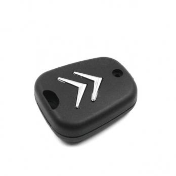 Заготовка ключа с кнопками с местом под чип и плату, профиль VA2, количество кнопок: 2