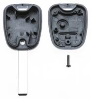 Заготовка ключа с кнопками с местом под чип и плату, профиль HU83, количество кнопок: 2_3