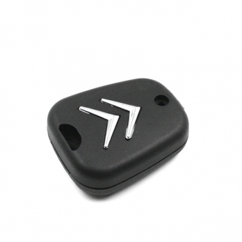 Заготовка ключа с кнопками с местом под чип и плату, профиль HU83, количество кнопок: 2