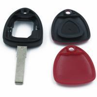 Заготовка ключа с кнопками с местом под чип и плату, профиль SIP22, количество кнопок: 1_2