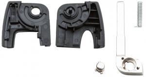 Заготовка выкидного ключа с местом под чип и плату, профиль HU101, количество кнопок: 3_1