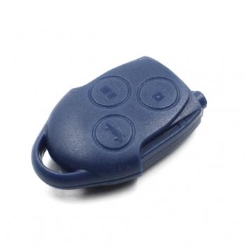 Часть НЕ выкидного ключа с местом под уставку платы центрального замка, количество кнопок: 3