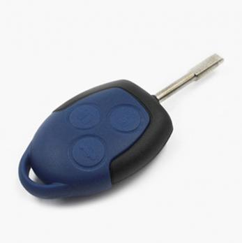 Заготовка ключа с кнопками с местом под чип и плату, профиль FO21,  количество кнопок: 3