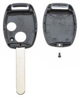 Заготовка ключа с кнопками с местом под чип и плату, профиль HON66, количество кнопок: 2_2