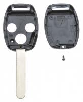 Заготовка ключа с кнопками с местом под чип и плату, профиль HON66, количество кнопок: 3_2