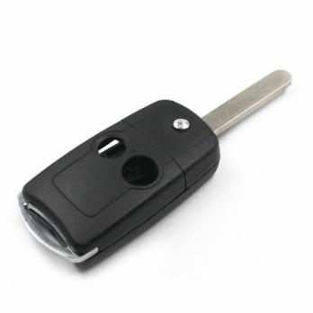 Заготовка выкидного ключа с местом под чип и плату, профиль HON66, количество кнопок: 2