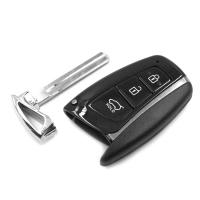 Заготовка смарт ключа с местом под плату, со вставкой, профиль KIA8, количество кнопок: 3_1
