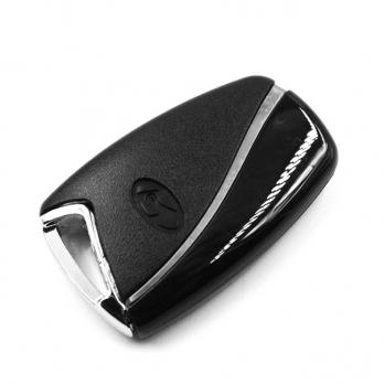 Заготовка смарт ключа с местом под плату, со вставкой, профиль KIA8, количество кнопок: 3