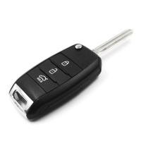Заготовка выкидного ключа с местом под чип и плату, профиль HYN14R количество кнопок: 3