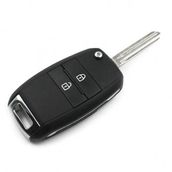 Заготовка выкидного ключа с местом под чип и плату, профиль HYN14R количество кнопок: 2