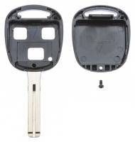 Заготовка ключа с кнопками с местом под чип и плату, профиль TOY48, количество кнопок: 3_2