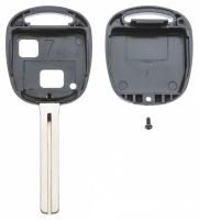 Заготовка ключа с кнопками с местом под чип и плату, профиль TOY40, количество кнопок: 2_2
