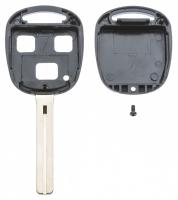 Заготовка ключа с кнопками с местом под чип и плату, профиль TOY40, количество кнопок: 3_2