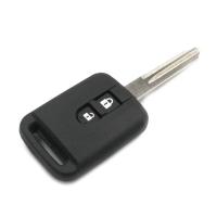 Заготовка ключа с кнопками с местом под чип и плату, профиль NSN14, количество кнопок: 2
