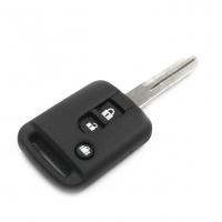 Заготовка ключа с кнопками с местом под чип и плату, профиль NSN14, количество кнопок: 3