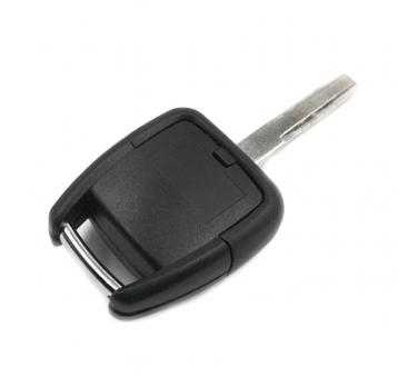 Заготовка ключа с кнопками с местом под чип и плату, профиль HU43