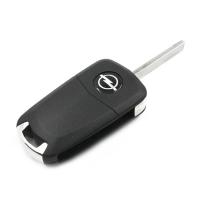 Заготовка выкидного ключа с местом под чип и плату, профиль HU100, количество кнопок: 3_1