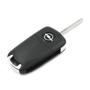 Заготовка выкидного ключа с местом под чип и плату, профиль HU100, количество кнопок: 3