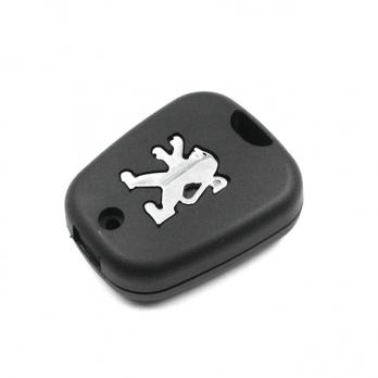 Заготовка ключа с кнопками с местом под чип и плату, профиль NE73, количество кнопок: 2