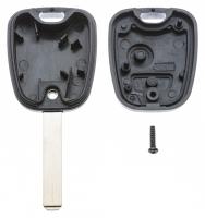 Заготовка ключа с кнопками с местом под чип и плату, профиль VA2, количество кнопок: 2_2