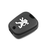 Заготовка ключа с кнопками с местом под чип и плату, профиль HU83, количество кнопок: 2_1