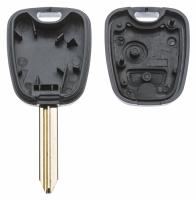 Заготовка ключа с кнопками с местом под чип и плату, профиль SX9 количество кнопок: 2_2