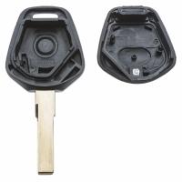 Заготовка ключа с кнопками с местом под чип и плату, профиль HU66, количество кнопок: 1_2