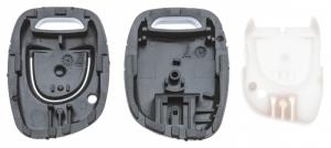 Заготовка ключа с кнопками с местом под чип и плату, профиль NE72, количество кнопок: 1_2