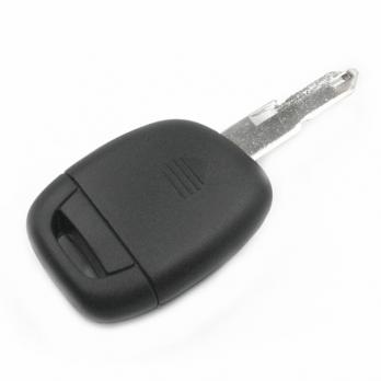 Заготовка ключа с кнопками с местом под чип и плату, профиль NE72, количество кнопок: 1