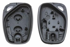 Заготовка ключа с кнопками с местом под чип и плату, профиль NE72, количество кнопок: 2_2