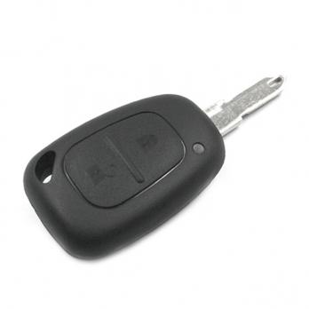 Заготовка ключа с кнопками с местом под чип и плату, профиль NE72, количество кнопок: 2