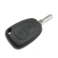 Заготовка ключа с кнопками с местом под чип и плату, профиль VAC102,  количество кнопок: 2_0