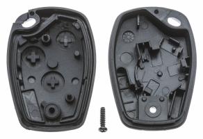 Заготовка ключа с кнопками с местом под чип и плату, профиль VAC102, количество кнопок:2_2