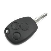 Заготовка ключа с кнопками с местом под чип и плату, профиль NE72, количество кнопок: 3