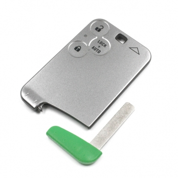 Заготовка смарт ключа с местом под плату, со вставкой, профиль VA150  количество кнопок: 3