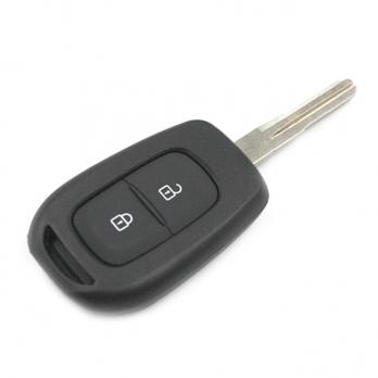 Заготовка ключа с кнопками с местом под чип и плату, количество кнопок:2