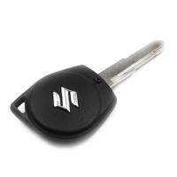 Заготовка ключа с кнопками с местом под чип и плату, профиль HU87, количество кнопок: 2_1