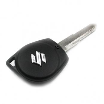 Заготовка ключа с кнопками с местом под чип и плату, профиль HU87, количество кнопок: 2