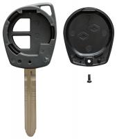Заготовка ключа с кнопками с местом под чип и плату, профиль SZ22, количество кнопок: 2_2