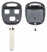 Заготовка ключа с кнопками с местом под чип и плату, профиль TOY43, количество кнопок: 3_2